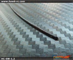 Micro Size wire Shrinkage Wrap Φ.6mm>Φ0.3mm (200mm Black)